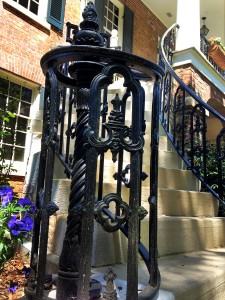 Stair Railing of Gorgas House, 2014, (c) Madison Leavelle